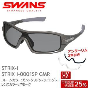 SWANS サングラス STRIX I-0001SP GMR