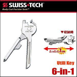 【レビューを書いて送料無料】SWISS+TECH キーリングツールセット 6-in-1 Utili-Key Key Ring Tool Set|passo