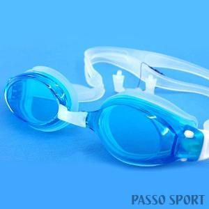スワンズ スイミングゴーグル SWANS FO-X1 SKBLC メンズ レディース|passo