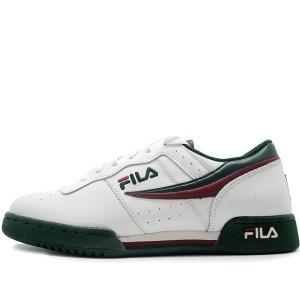 FILA ORIGINAL FITNESS LEA WHITE/GREEN フィラ オリジナルフィットネス ホワイト グリーン 11F16LT-157|passover