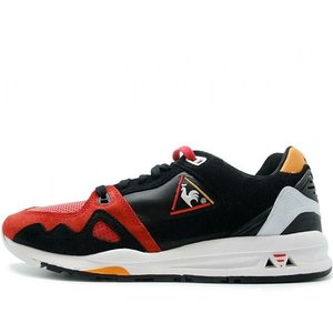 LE COQ SPORTIF X HIGHS AND LOWS HAL R1000 BKACK/RED ルコックスポルティフ X ハイズアンドロウズ R1000 ブラック レッド 1421340|passover