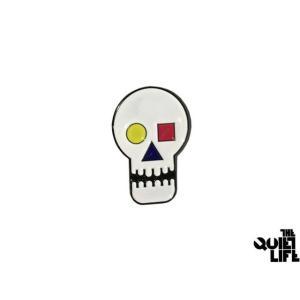 THE QUIET LIFE BAUHAUS SKULL LAPEL PIN クワイエットライフ バウハウススカル ラペールピン 16hol-1113|passover