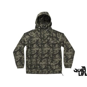 THE QUIET LIFE CAMO WINDY PULLOVER ARMY クワイエットライフ カモ ウィンディ プルオーバー アーミー 17FWD1-1103|passover