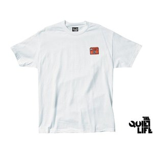 THE QUIET LIFE SHAKEY CAT TEE WHITE クワイエットライフ シェイキーキャット ティー ホワイト 17FWD2-2141|passover
