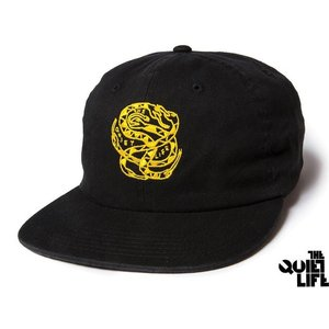 THE QUIET LIFE x NATHAN BELL SNAKEPIT 6 PANEL POLO HAT BLACK クワイエットライフ スネークピット 17HOL-4107|passover