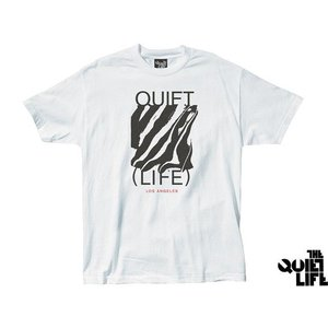 THE QUIET LIFE SMEAR TEE WHITE クワイエットライフ シミアー ティー ホワイト 17SUM-1100|passover