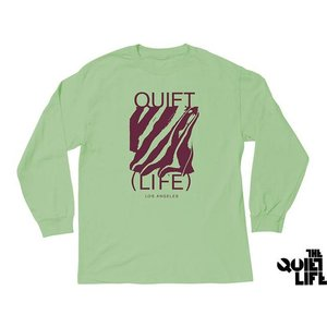 THE QUIET LIFE SMEAR LONG SLEEVE TEE CELADON クワイエットライフ シミアー ロングスリーブティー セラドン 17SUM-1103|passover