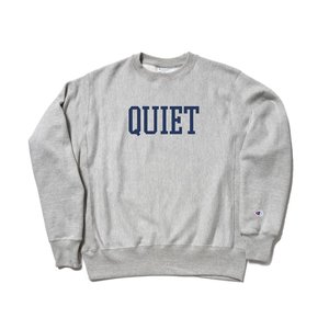 2018 FALL/WINTER COLLECTION THE QUIET LIFE CHAMPION REVERSE WEAVE CREW HEATHER GREY クワイエットライフ チャンピオン リバースウィーブ 18FWD1-1119|passover