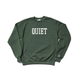 2018 FALL/WINTER COLLECTION THE QUIET LIFE CHAMPION REVERSE WEAVE CREW GREEN クワイエットライフ チャンピオン リバースウィーブ 18FWD1-1120|passover
