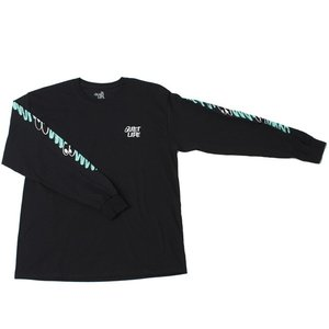 THE QUIET LIFE x JAMES JARVIS JARVIS LONG SLEEVE TEE BLACK クワイエットライフ ジェームス ジャービス 18SPD1-1117|passover