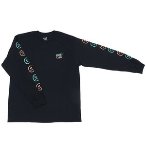 2018 SUMMER COLLECTION THE QUIET LIFE BRYANT LONG SLEEVE TEE BLACK クワイエットライフ ブライアント ロングスリーブティー ブラック 18SPSD2-2106|passover