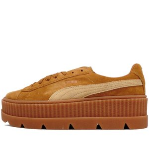 PUMA x FENTY by RIHANNA CLEATED CREEPER SUEDE WN'S GOLDEN BROWN プーマ フェンティ リアーナ ウィメンズ クリーテッド クリーパー 366268-02|passover