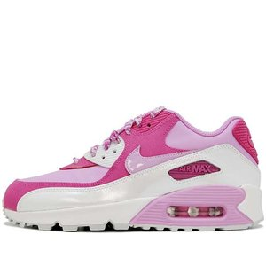 NIKE AIR MAX 90 LEATHER GS PINK/WHITE ナイキ エアマックス90 レザー ピンク ホワイト 724852-500|passover