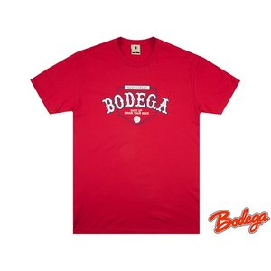 BODEGA BUSH LEAGUE TEE RED ボデガ ブッシュリーグティー レッド|passover
