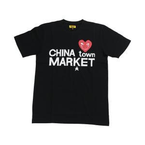 CHINATOWN MARKET COMME DE CHINATOWN TEE BLACK チャイナタウンマーケット コムデチャイナタウン ティー ブラック|passover