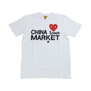 CHINATOWN MARKET COMME DE CHINATOWN TEE WHITE チャイナタウンマーケット コムデチャイナタウン ティー ホワイト|passover