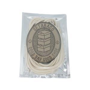 メール便対応 GETABACO COTTON ROPE LACE NATURAL ゲタバコ コットン ロープレース ナチュラル 日本製 passover