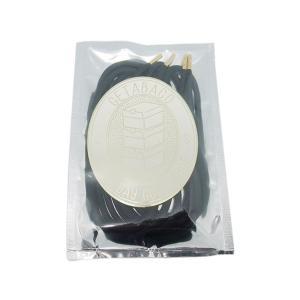 メール便対応 GETABACO x BEAUTY & YOUTH METAL TIP ROPE LACES BLACK/GOLD ゲタバコ メタルチップロープレース ブラック ゴールド 日本製 passover