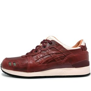 ASICS x PACKER SHOES x J.CREW GEL LYTE III OXBLOOD LEATHER THE 1907 COLLECTION アシックス パッカーシューズ ジェイクルー ゲルライト3 H7F5K-2626|passover