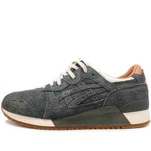 ASICS x PACKER SHOES x J.CREW GEL LYTE III CHARCOAL SUEDE THE 1907 COLLECTION アシックス パッカーシューズ ジェイクルー ゲルライト3 H7F6K-9797|passover