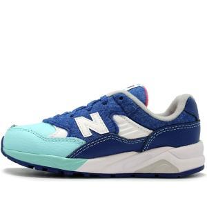 子供靴・ベビー用品 NEW BALANCE KL580FYI BLUE ニューバランス ブルー|passover