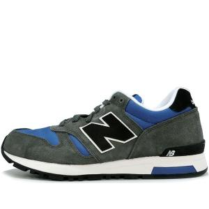 NEW BALANCE ML565AAB GREY/BLUE ニューバランス グレイ ブルー|passover