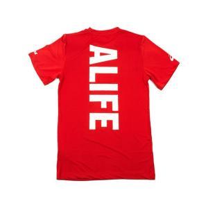 ALIFE / ASICS MARATHON COLLECTION STANDARD LOGO DRY FIT T SHIRT エーライフ アシックス マラソンコレクション スタンダード ロゴ ティーシャツ|passover