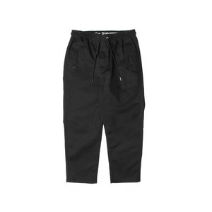 PUBLISH BRAND CASPIAN STRETCH COTTON TWILL RELAX ANKLE PANTS BLACK パブリッシュブランド カスピアン P1801059-BLACK|passover