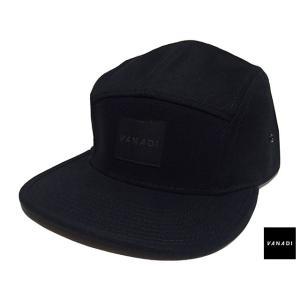VANADI PATCHED LOGO 5 PANEL CAP BLACK ヴァナディ パッチド ロゴ 5 パネル キャップ ブラック|passover