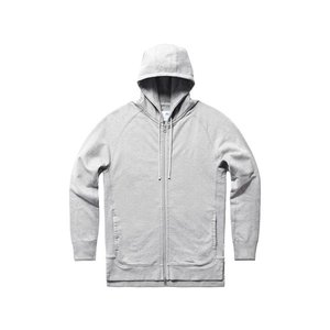 期間限定ポイント10倍 ASICS x REIGNING CHAMP FULL ZIP HOODIE HEATHER GREY|passover
