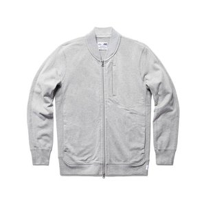期間限定ポイント10倍 ASICS x REIGNING CHAMP BOMBER JACKET HEATHER GREY|passover