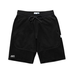 期間限定ポイント10倍 ASICS x REIGNING CHAMP SWEAT SHORT BLACK|passover