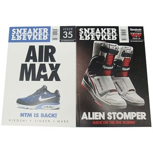 メール便対応 SNEAKER FREAKER ISSUE 35 スニーカー フリーカー 35号 passover