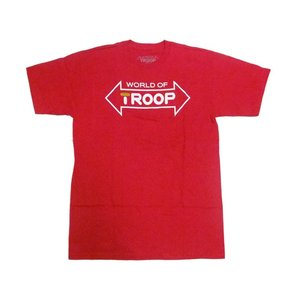 TROOP LOGO TEE RED トゥループ ロゴティー レッド|passover