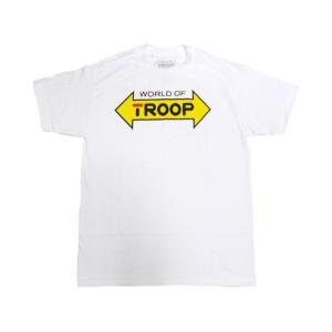 TROOP LOGO TEE WHITE トゥループ ロゴティー ホワイト|passover