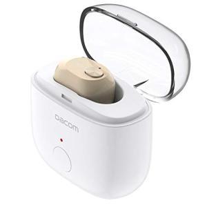 DACOM Bluetooth イヤホン 高音質 片耳 軽量ミニ型 完全ワイヤレス イヤホン 充電ケ...