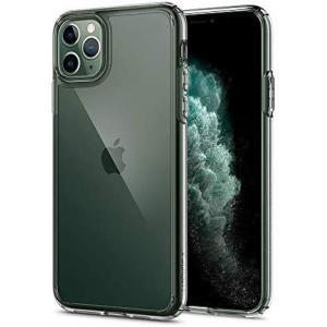 【Spigen】 iPhone 11 Pro Max ケース 6.5インチ 対応 背面 クリア 米軍...