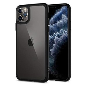 【Spigen】 iPhone 11 Pro ケース 5.8インチ 対応 背面 クリア 米軍MIL規...
