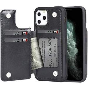 iPhone 11 Pro ケース 手帳型 ワイヤレス充電対応 米軍軍事規格 スマホケース iPho...