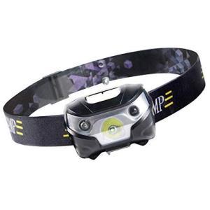 Chamsaler ヘッドライト USB充電式 LED センサー感応機能 コンパクト 自由に角度を調...