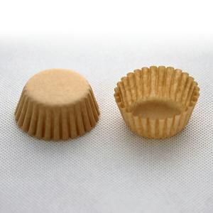 C5F-1000 マフィン型用グラシンカップ5F クラフト 1,000枚 ※12個用金型専用ラッピング 用品 袋 プレゼント 包装 お菓子 手作り 製菓用品|pastreet