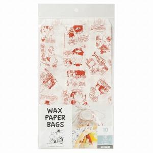 MM09SET ムーミン ワックスバッグ 3点セット メール便メール便対応個数:1個までラッピング 用品 袋 プレゼント 包装 お菓子 手作り 製菓用品 pastreet