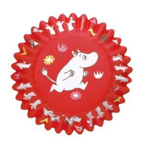 MM527 ケーキカップ底径50mm ムーミン PI 12枚ベーキングカップ ムーミン ペットカップ ケーキ型 焼型 紙製 お菓子 手作り 製菓用品 pastreet
