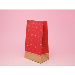 NB99 角底ペーパーバック小 ラブピンク 20枚 メール便メール便対応個数:3個までラッピング 用品 袋 プレゼント 包装 お菓子 手作り 製菓用品|pastreet