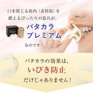 パタカラ プレミアム いびき 治し方 いびき防止 いびき対策 鼻呼吸器具 口呼吸 治し方 グッズ マウスピース 矯正 patakara 06