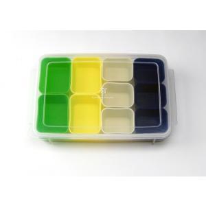 おかずを小分けに保存して、朝はつめるだけのらくちんグッズです。お弁当だけでなく、常備菜の保存容器とし...