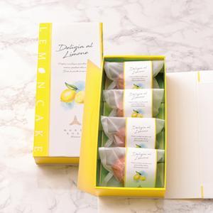 デリツィア・リモーネ (4個入り)爽やかな香り レモンケーキ ギフト 手土産 プレゼント|patisserie-monterosa