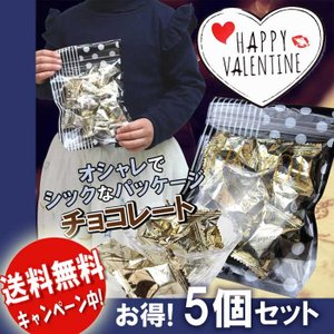 送料無料 5個セット 国産生チョコバレンタイン 義理チョコ ...