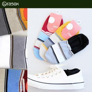 (ラソックス) rasox 靴下 ソックス クアトロ カバー QUATTRO COVER フットカバー 日本製 深履き 40代 50代 paty