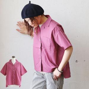 半袖 シャツ 開襟 タイプライター 生地 綿100% 国産 日本製 オーバーサイズ (シーエルエヌ) C.L.N 40代 50代|paty